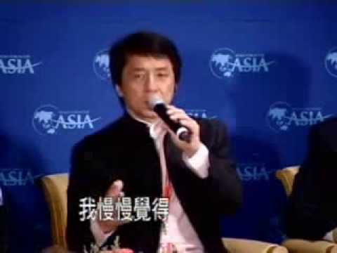 成龍 Jackie Chan Interview on China TV Travel Video