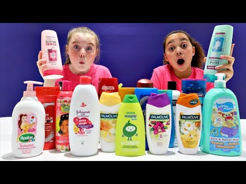 Don't Choose The Wrong Shampoo Slime Challenge!!