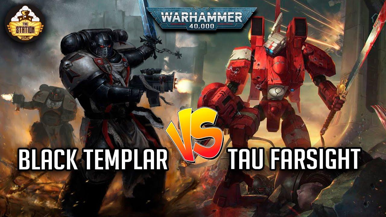 Download BLACK TEMPLARS VS TAU FARSIGHT | BATTLEREPORT 2000PTS  | WARHAMMER 40K