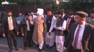 Report: Hazrat Mirza Masroor Ahmad (aba) in Germany 2014 #JALSAGERMANY