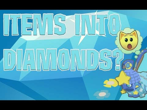 HOW TO RECYCLE ITEMS FOR DIAMONDS ON ANIMAL JAM