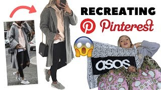 $600 RECREATING PINTEREST OUTFITS!