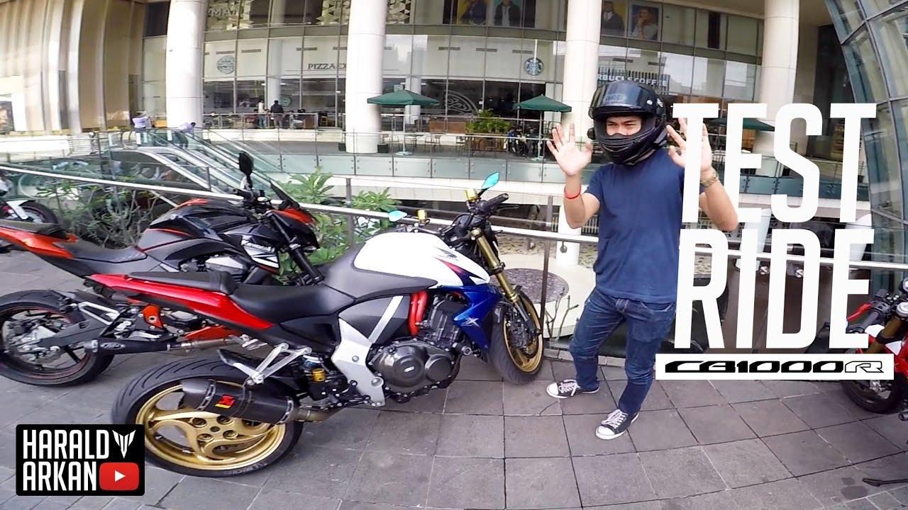 Test Ride Honda Cb1000r 2012 With Fsigar Motovlog Indonesia Youtube