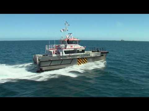21m 'Wind Express' Catamaran - Offshore Crew Transfer Vessel