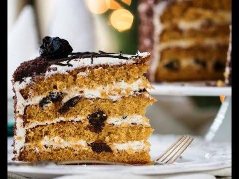 Йогуртовый торт Пошаговый рецепт с фото Десерты