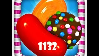 Candy Crush - Level 1132 - 3 Stars - No Booster