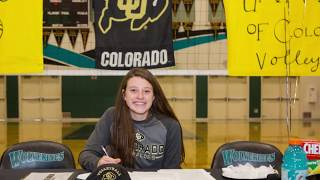 Jenna Ewert Signing Day - November 8, 2017