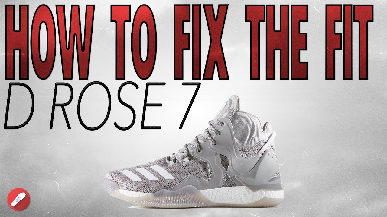 f029c4f4199 How To Fix The Fit On The D ROSE 7! - YouTube