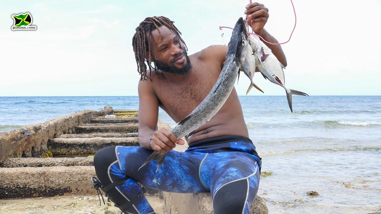 Barracudas Got Caught & Eaten Every Day   Spearfishing Adventure