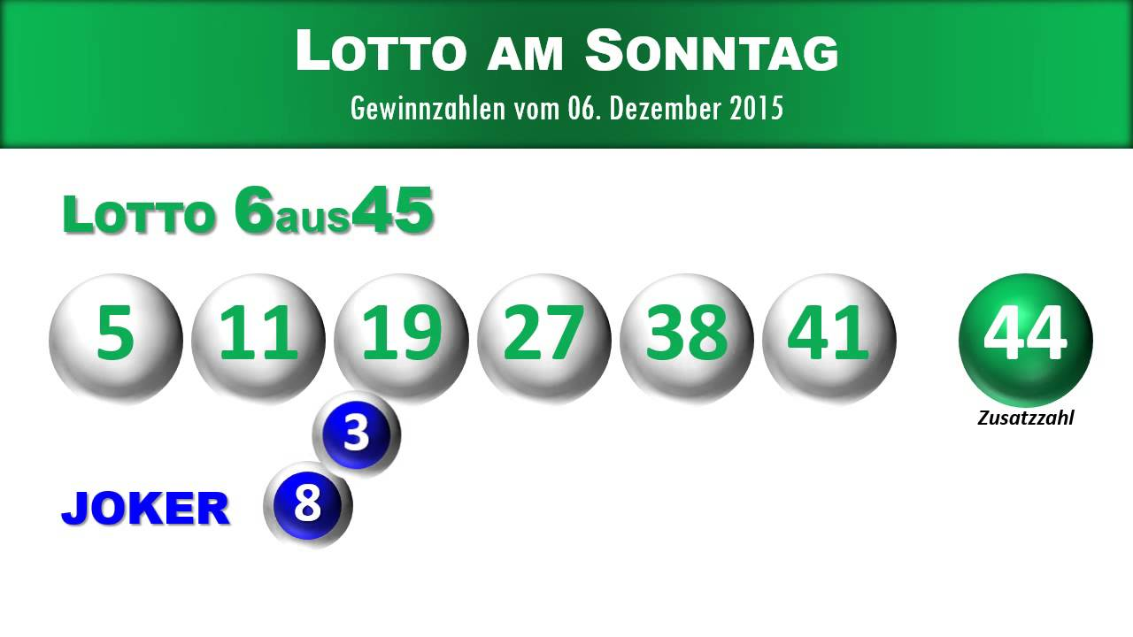 6 aus 45 lotto