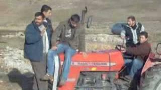 derinkuyu traktor yarısları traktor cekiştirme 265 mf