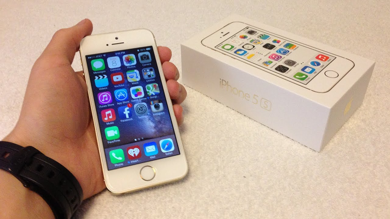 Apple iPhone 5S Unlocked Gold Unboxing - YouTubeIphone 5s Champagne Gold Unboxing
