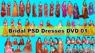 Bridal PSD Dresses DVD 01 Free Download