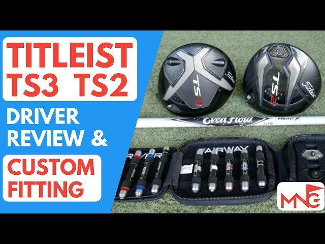 Titleist TS2 TS3 Driver Review & Custom Fitting On Myself