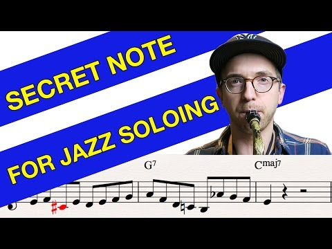 Secret Note for Amazing Jazz Lines - What is it?!