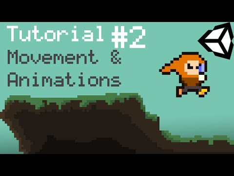 Unity 5 2D Platformer Tutorial – Part 2 – Movement, Animation