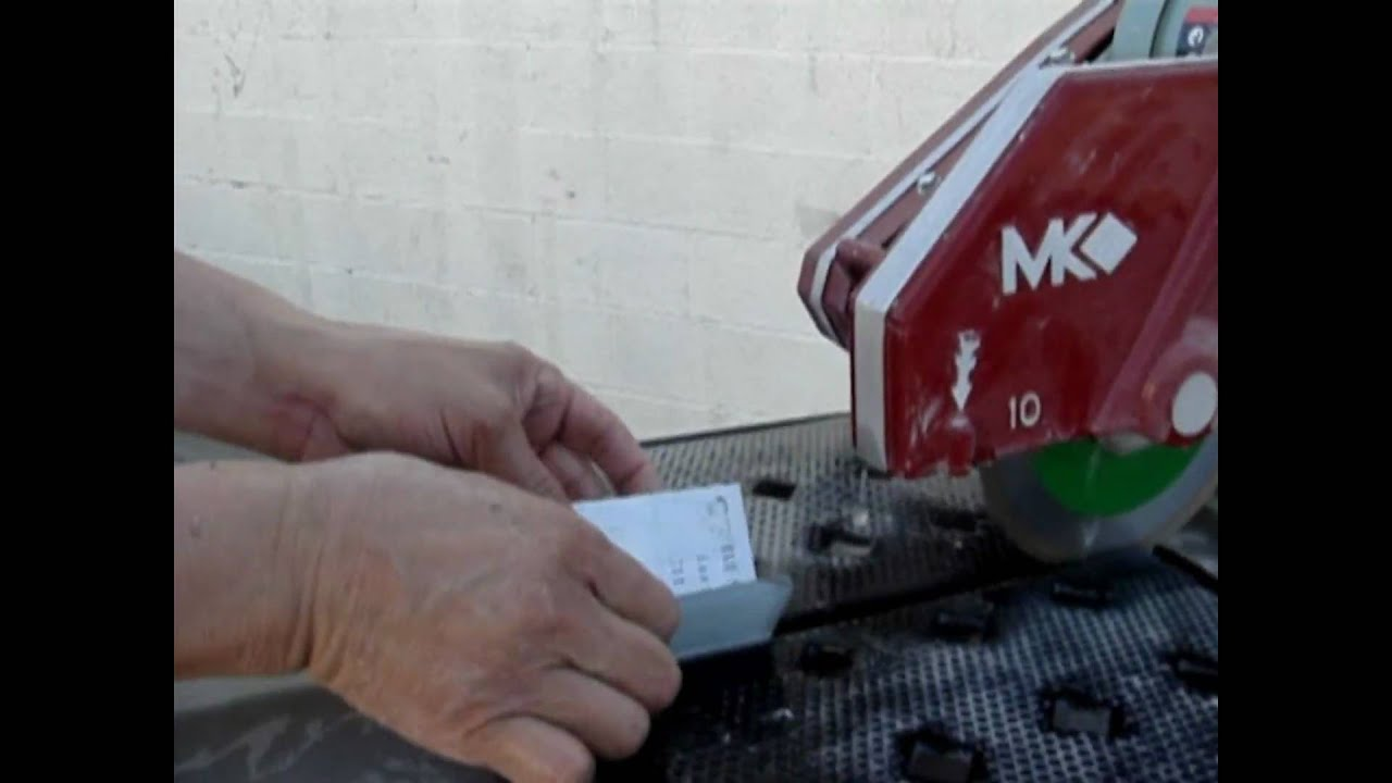 How To Cut Gl Tile Using Gilatools Super Sharp Blades