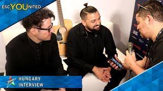 "Joci Papai - ""Az En Apam"" Interview (Hungary) | Eurovision Song Contest 2019"