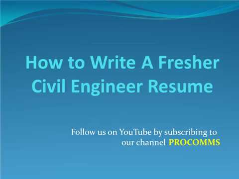 tips for Fresher Chemical Engineering Resume | Fresher Chemical ...