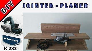 DIY jointer dari mesin serut | Planer KYUHO K282