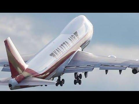 airplane take off video free download