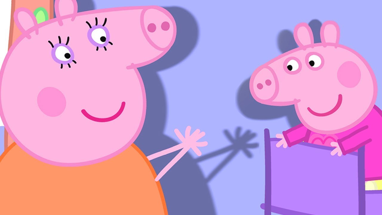 Peppa Pig English Episodes | Peppa Pig's Shadow Play | Cartoons for Children