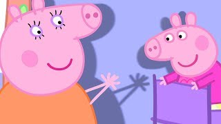 Peppa Pig English Episodes | Peppa Pig's Shadow  Peppa Pig Official