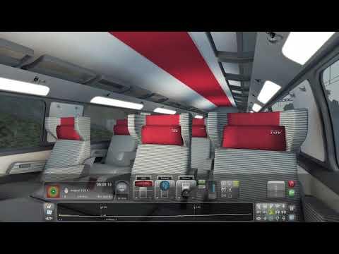Train Simulator from Aix en Provence TGV to Avignon TGV