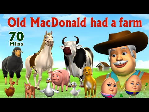 Old MacDonald Had A Farm  - Kids' Songs Collection   Nursery Rhymes for Children