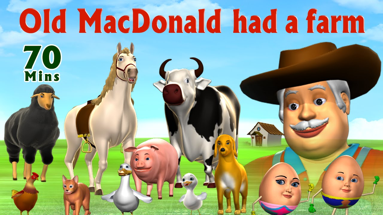 Old MacDonald Had A Farm  - Kids Songs Collection   Nursery Rhymes for Children