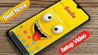 New Android Home Screen setup How To Best Nova Launcher Setup Video Episode 15 Tanzir Tech