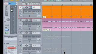 Samplitude Basics 23:Volume Fader Settings.