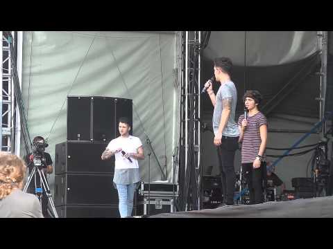 Union J - Carry You - Leicester Music Festival 26/07/2014