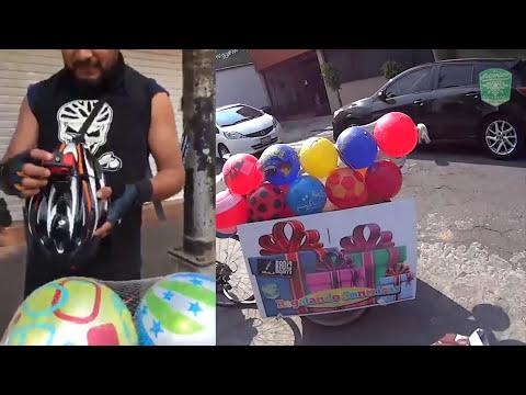 #RegalandoSonrisas Ruta! CDMX REGALANDO JUGUETES EN BICI (BiciVlog)
