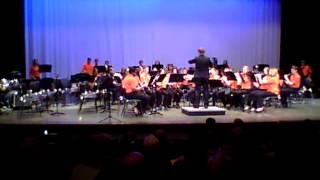 "BMS 8th Grade Band 2014 - ""At Sunrise"""