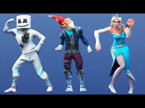 Fortnite All Dances Season 1 7 Updated to Bobbin&39;