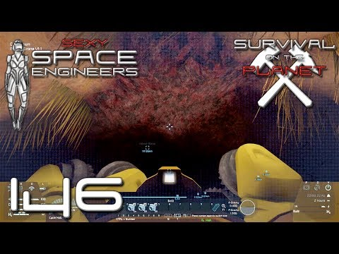 Sexy Space Engineers #146 - Mining Drohne Drill Test Ω Planet | Survival | Gameplay | Deutsch