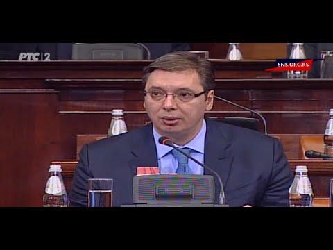 Uvodni govor - Narodna Skupština Republike Srbije (05.02.2016.)