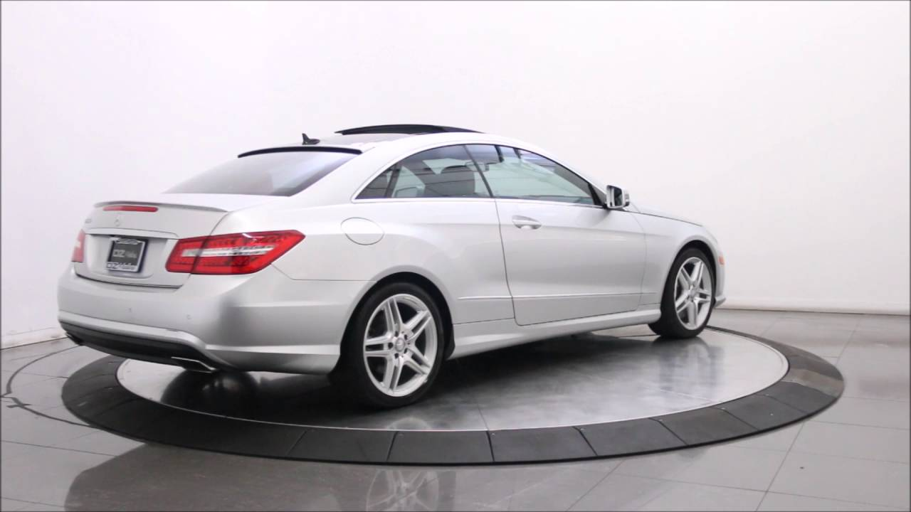 2013 MERCEDES BENZ E550 AMG SPORT COUPE