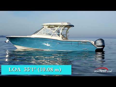 Grady-White Freedom 325 (2018-) Test Video - By BoatTEST.com