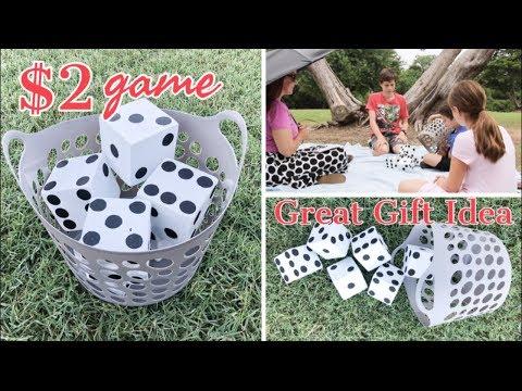 YARD YAHTZEE | DIY YARD GAMES | DIY GIFT IDEAS