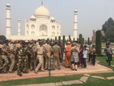 आगरा दौरा योगी ने किया ताज का दीदार II Chief Minister Yogi Adityanath in Agra, Agra Hindi News