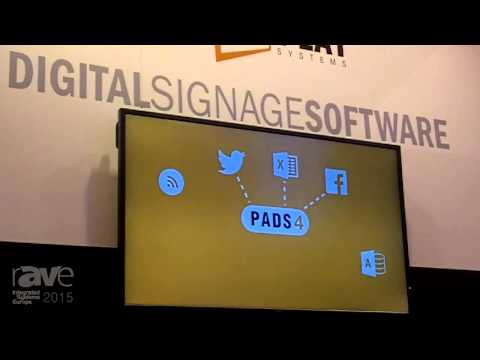 ISE 2015: Net Display Systems Breaks Down PADS4 Digital Signage