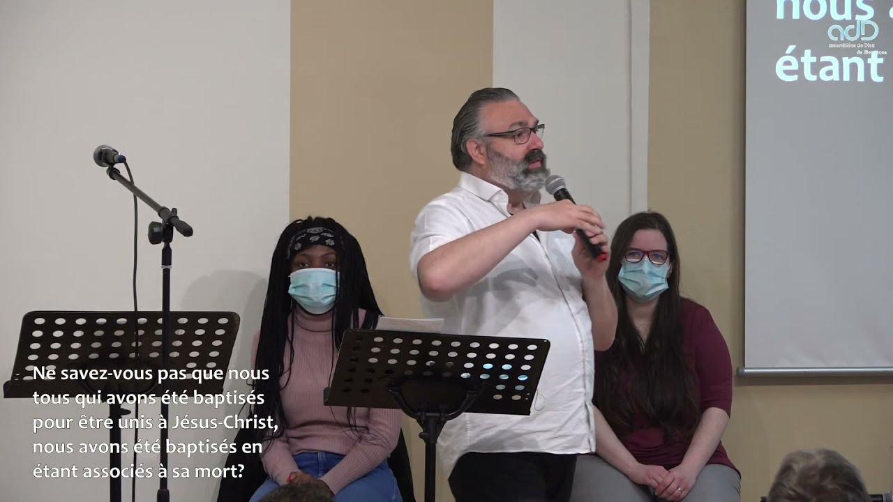 BAPTÊMES - DIMANCHE 23 MAI - 9H