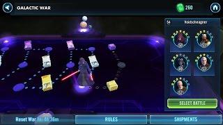 Star Wars Galaxy Of Heroes - Часть 3. Галактическая война