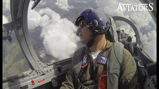 On-board flying with the L39 Albatros Jet Trainer
