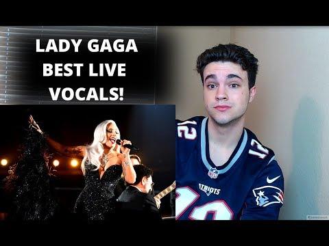 LADY GAGA BEST LIVE VOCALS! REACTION!