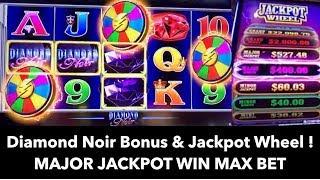 💍 Diamond Noir - Jackpot Wheel Massive Win 🎰 ! Major Jackpot MAX BET