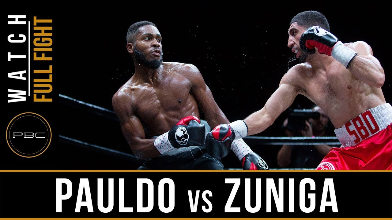 Pauldo vs Zuniga Highlights: May 26, 2018 - PBC on FS1