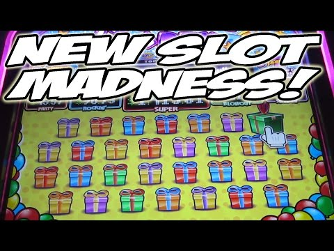 NEW GAME MADNESS!! NEW SLOTS!! NEW GAMES!! NEW SLOT MACHINES!! [Slot Machine Bonus Wins] - 동영상